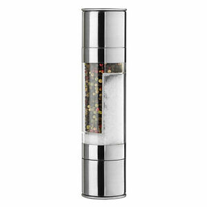 2 in 1 Stainless Steel Portable Manual Salt and Pepper Mill Grinder Muller