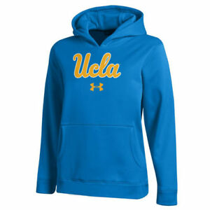 UCLA Bruins Under Armour Youth AF Pullover Hoodie - Royal - NCAA