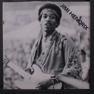 JIMI HENDRIX: Red House  Part Ii 45 (PS with very slight cw 1970 Pop Festival