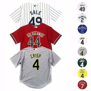 MLB Majestic Official Cool Base Replica Player Jersey Collection Boys Size (4-7)