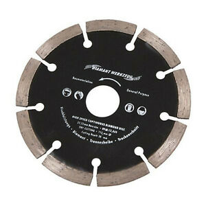 High Speed Segmented DIAMOND Blade DISC Angle Grinder Cutter Saw Dry Cut Cutting GBP 4.99