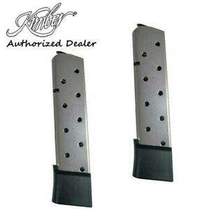 Kimber 1911 .45 ACP 10 Round Extended Magazines PAIR 1100167A
