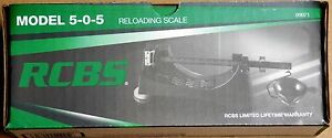 RCBS Model 505 Magnetic Powder Scale 9071 *FREE PRIORITY MAIL SHIPPING*