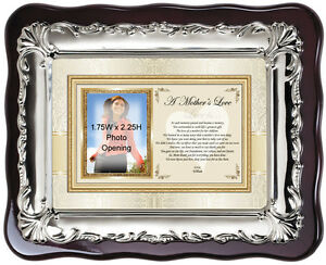 Picture Frame Gift for Mom Mothers Day Photo Frame to Say Thank You Wedding Love