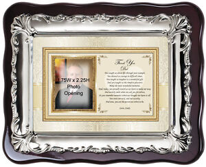 Picture Frame Father of Bride Thank You Gift or Birthday Christmas Gift for Dad
