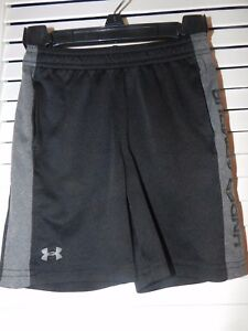 *Boy's Under Armour Black & Gray Shorts Size 3T