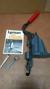 Lyman 450 bullet sizer & lubricator with instructions