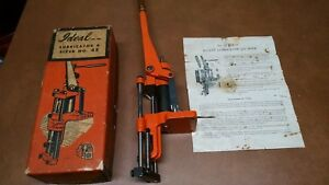 Lyman Ideal No 45 Bullet Lubricator & Sizer with instructions  Great condition