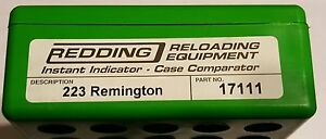 17111 REDDING INSTANT INDICATOR WITHOUT DIAL - 223 REMINGTON - NEW RANGE ADAPTER