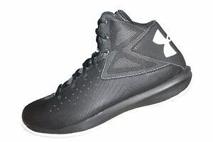 Youth Boys Under Armour GS Rocket New Basketball Shoes Size 5 - 1265440-001