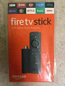Brand New Amazon Fire TV Stick w Alexa Voice Remote 2nd Generation Black