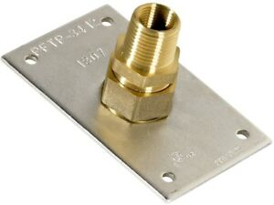 CSST Termination Plate and amp; Adapter Male Thread Brass Low Carbon Steel