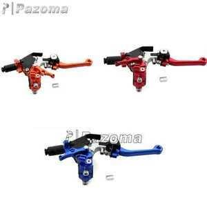 CNC Adjustable Extendable Foldable Cable Brake Clutch Lever For Racing Dirt Bike $34.22