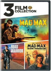 3 Film Collection: Mad Max The Road Warrior Mad Max Beyond Thunderdome New