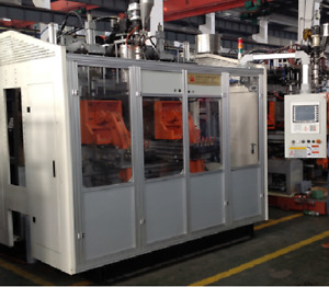 NEW Continuous Extrusion Blow Molding Machine. 5Lt.