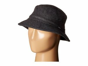 RVCA OAK BUCKET Mens Hat NEW Charcoal Grey Cap VA RUCA GRAY : Free Shipping