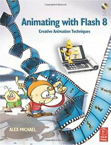 Animating with Flash 8: Creative Animation Techniq... by Michael Alex Paperback $15.26