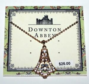 DOWNTON ABBEY TV Show Licensed Victorian NECKLACE Fashion Costume JEWELRY 611New