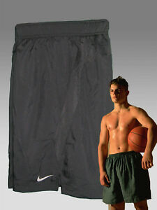 NEW NIKE Men's Fit-Dry Long Gym Fitness Basketball Shorts Black M