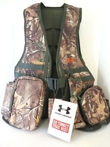 UNDER ARMOUR UA TRAX TURKEY VEST REAL TREE AP XTRA HUNTING BAG ONE SIZE NEW tags