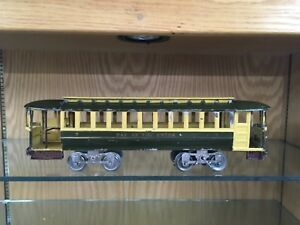 Rare Lionel Standard Gauge 8 Trolley from 1908-14 - Great Example