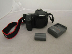 Canon EOS 50D Body Only Digital Camera Bundle w 2 Batteries & Charger