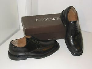 Florsheim Kendrick Black Leather Split Toe Design Oxfords Dress Shoes Mens 9