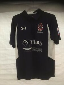 Mill Hill School Zambia 2015 Rugby Tour Under Armour Polo Shirt XMAS CLEARANCE