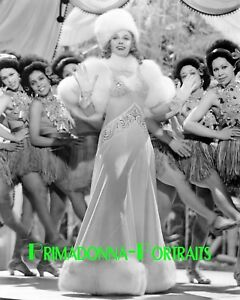 ANNA NEAGLE 8X10 Lab Photo 1930s Sexy Elegant Fur & Shimmering Gown Movie Still