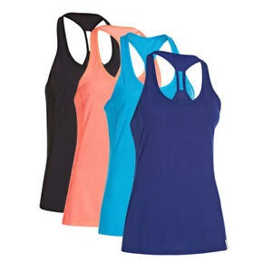 Under Armour Running Womens Fly-By Stretch Mesh Tank - Caspian Blue - Large