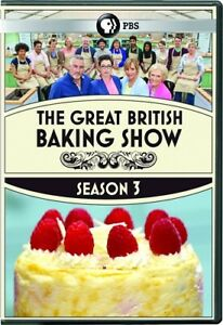 THE GREAT BRITISH BAKING SHOW TV SERIES COMPLETE SEASON 3 New Sealed 3 DVD Set