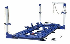 20' AUTO BODY COLISION SHOP FRAME MACHINE WITH 3 TOWERS 360 DEGREE READY TO SHIP