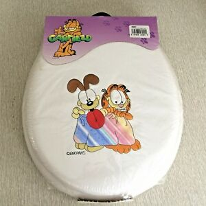 Garfield the Cat Soft Toilet Seat 1996 Vintage Embroidered NEW