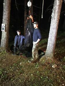 2018 fall bear hunting in Maine