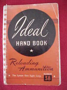 Ideal Hand Bool Reloading Ammunition Number 38