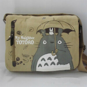 Creative Anime My Neighbor Totoro Canvas Messenger Shoulder Bag Cosplay Decor