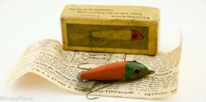 Evans Weed Queen Vintage Lure in Box with Papers