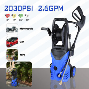 2030PSI 1.8GPM Electric Pressure Washer Water Cleaner Power Sprayer Kit $92.99