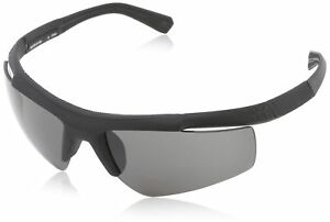 Under Armour Core Satin Black Frame with Black Rubber and (ANSI) Gray Lens