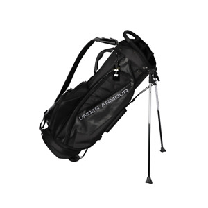 UNDER ARMOUR JAPAN LI Staff Stand Staff Cart Caddy Golf Bag Black 9.03.2KG NEW
