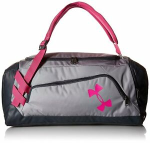 Under Armour Duffle Bag For Women UA Backpack Padded Water Resistant Gym Bags
