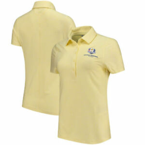 Under Armour Women's 2018 Ryder Cup Zinger Heathered Performance Polo - Yellow