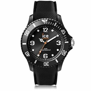 Ice Watch ICE sixty nine Black Men's Unisex wristwatch with silicon strap