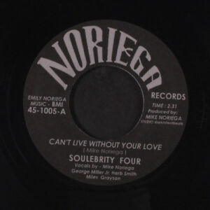 SOULEBRITY FOUR  DUO: Can't Live Without Your Love  Don't Stop The Music 45 (