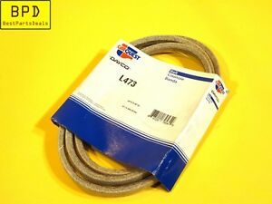 Industrial Multi Purpose V Belt A 4L Section Dayco CarQuest L473