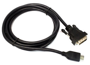 Dynex High Definition DVI-to-HDMI Digital Video Cable for Computer to Monitor TV