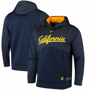 Cal Bears Under Armour 2017 Sideline Storm Armour Performance Hoodie - Navy