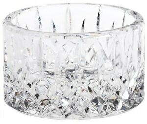 Champagne Wine Bottle Coaster Waterford Lead Crystal 4.5 Inch Clear Dining Bar