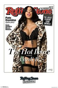 CARDI B ROLLING STONE COVER POSTER 22x34 MUSIC 16450 $9.75