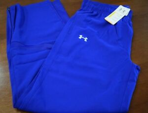 NWT~Women's L UNDER ARMOUR All Season Athletic Wind Soccer Track PANTS 1258833